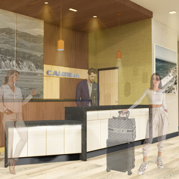 Rondell Oasis Hotel Calabasas Interior 1